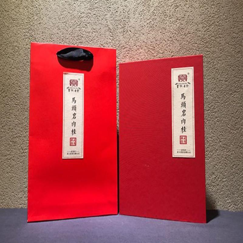 【贡袍名茶】马头岩肉桂 100g 茶叶 礼盒装