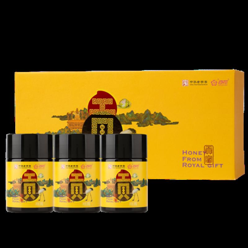 百花 椴树蜂蜜(贡蜜)380g*3【百花全场满5瓶起售】