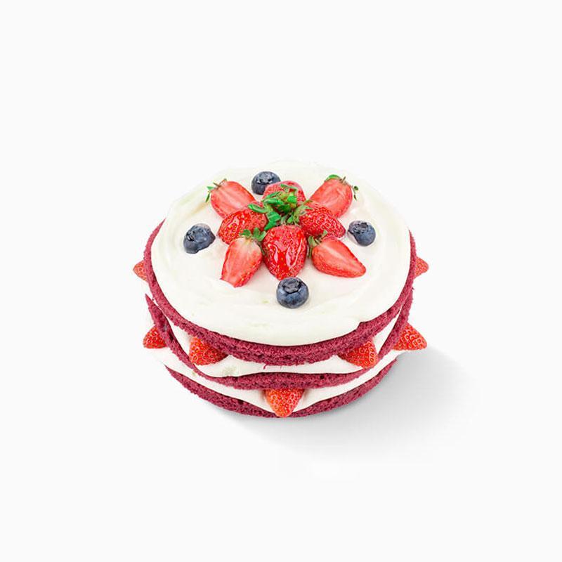 幸运手作 红妆蛋糕