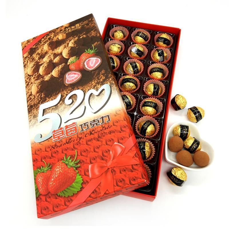 正浩 草莓巧克力160g*18盒/箱