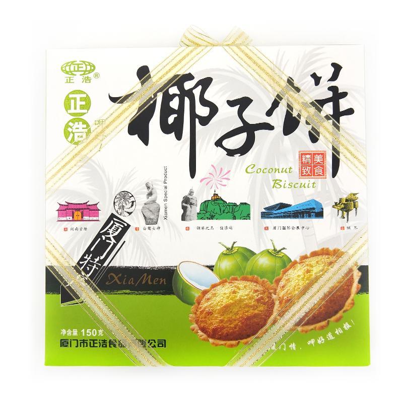 正浩 椰子饼150g*24盒/箱