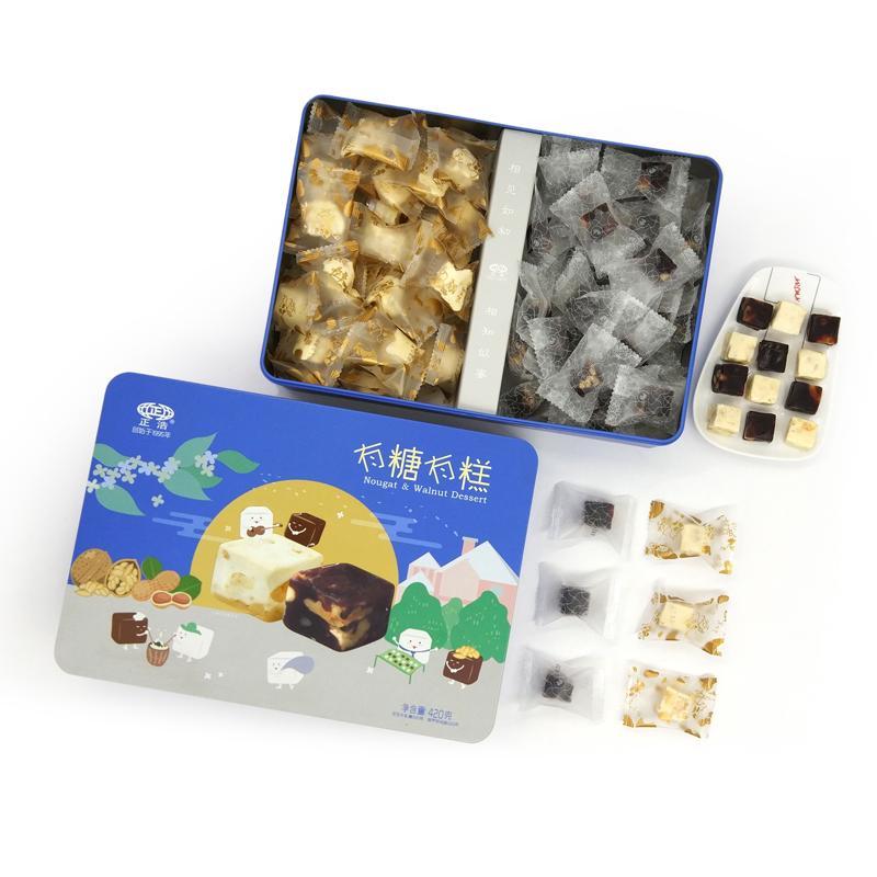 正浩 有糖有糕420g*12盒/箱