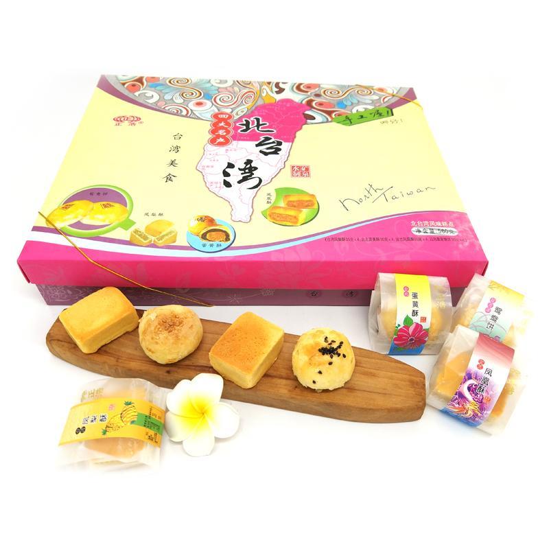 (特价)正浩 北台湾四大名产560g*10盒/箱