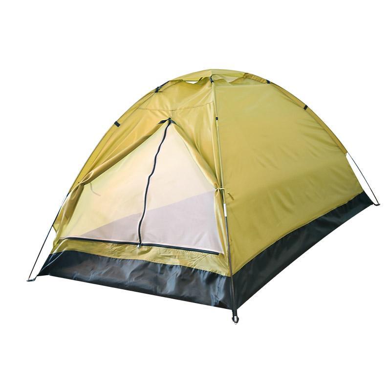 易路达 单层双人帐篷 颜色随机