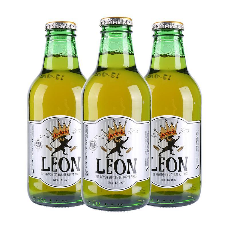雄狮莱澳啤酒250ml*24瓶/箱