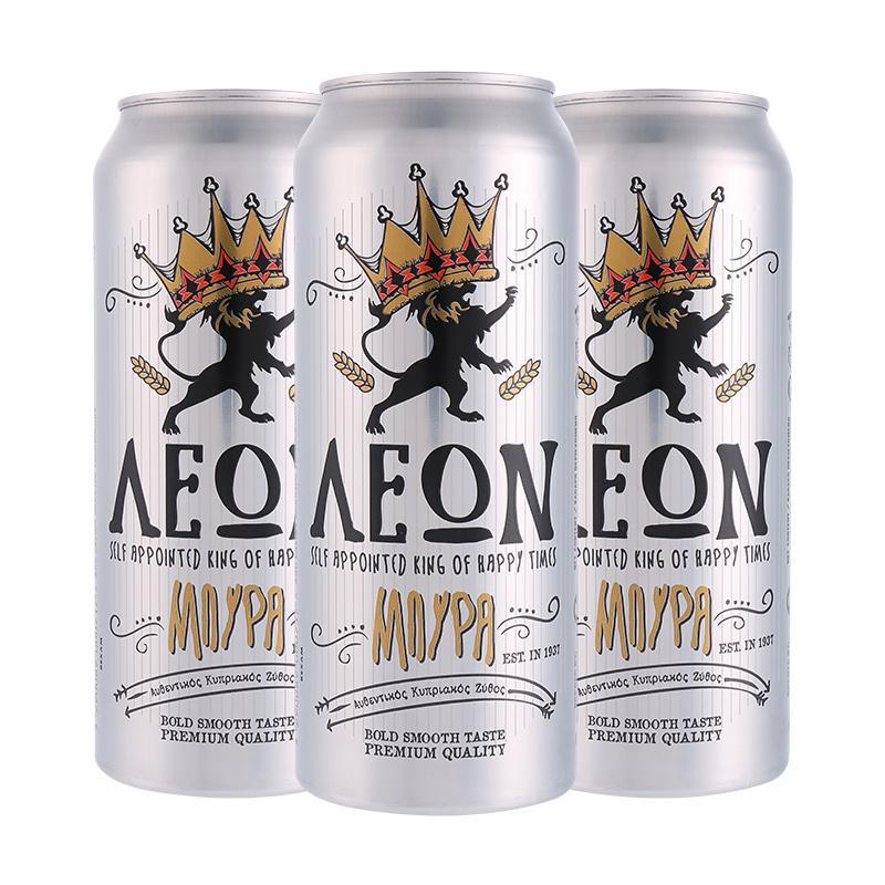 雄狮莱澳啤酒500ml*24/箱