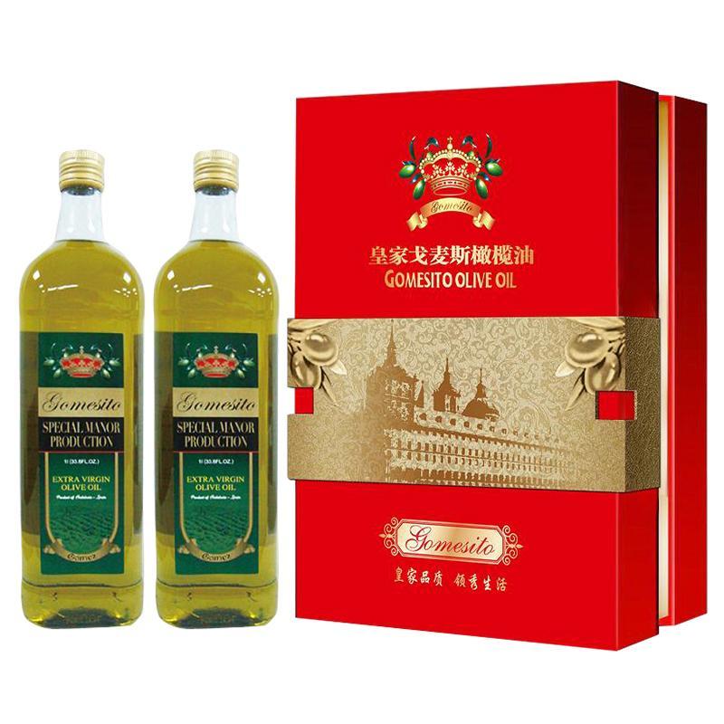 皇家戈麦斯皇家御礼橄榄油礼盒1L*2