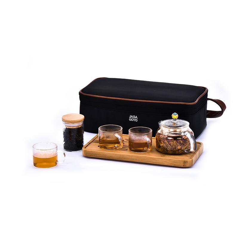 国殷简尚臻享旅行茶具套装JS158205001