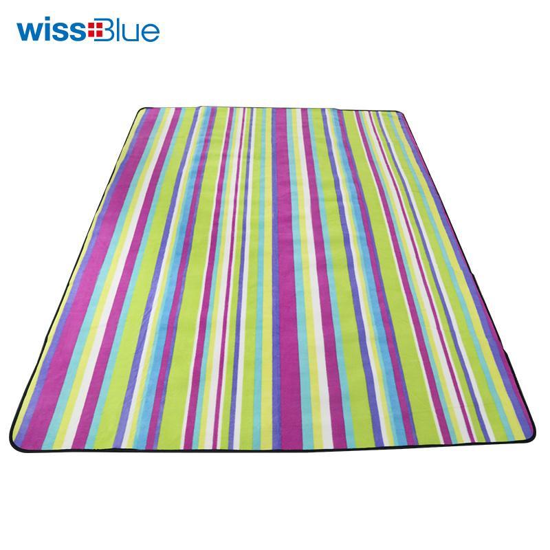 维仕蓝双人摇粒绒野餐垫WA8055L