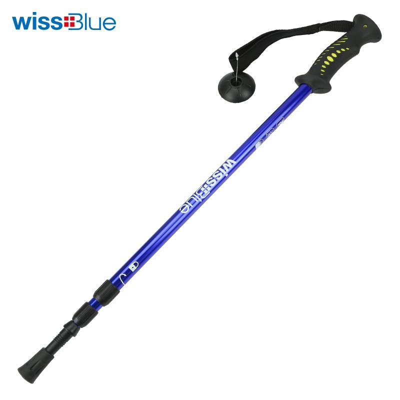 维仕蓝登山杖 蓝色WA8039-B