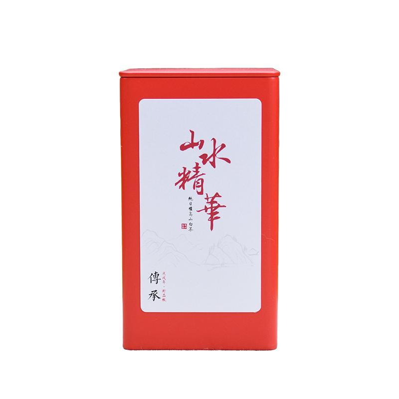 【第二件半价】龙岩五斗茶福鼎白茶2018年特级寿眉50克罐装