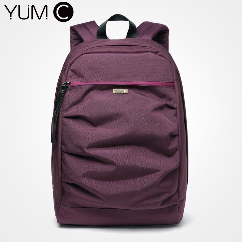 YUMC双肩包货号:B3015大版布标款