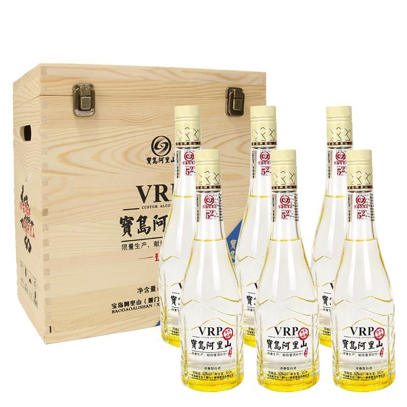 52°宝岛阿里山(VIP品鉴木盒)500ml*6
