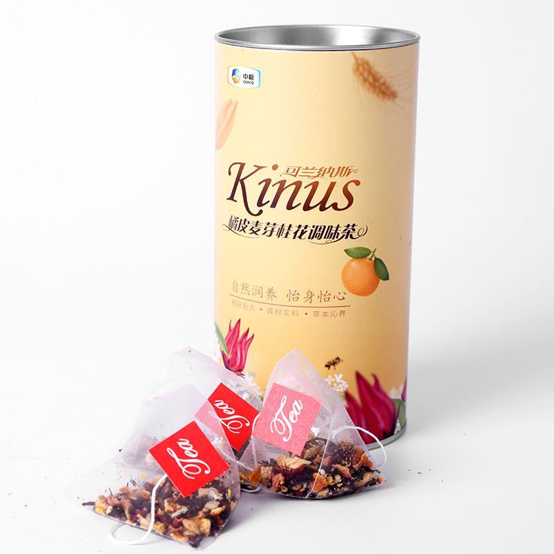 中粮Kinus可兰纳斯橘皮麦芽桂花调味茶