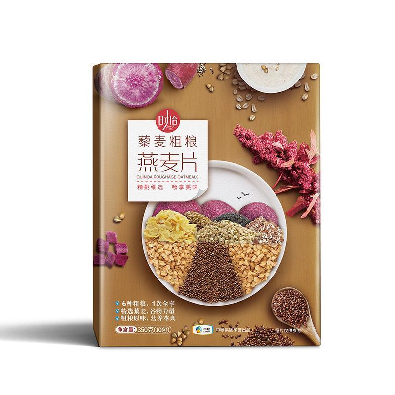 中粮时怡藜麦粗粮燕麦片35g*10袋