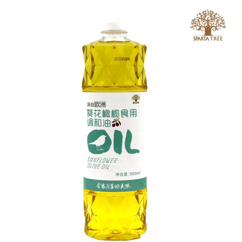 黄金树食用植物调和油900ml