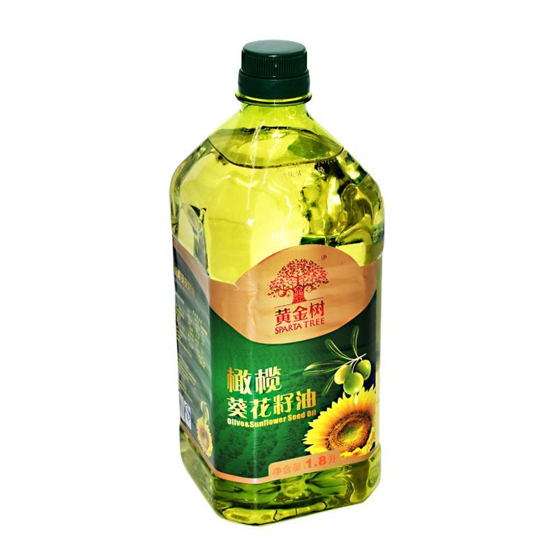 黄金树食用植物调和油1.8L