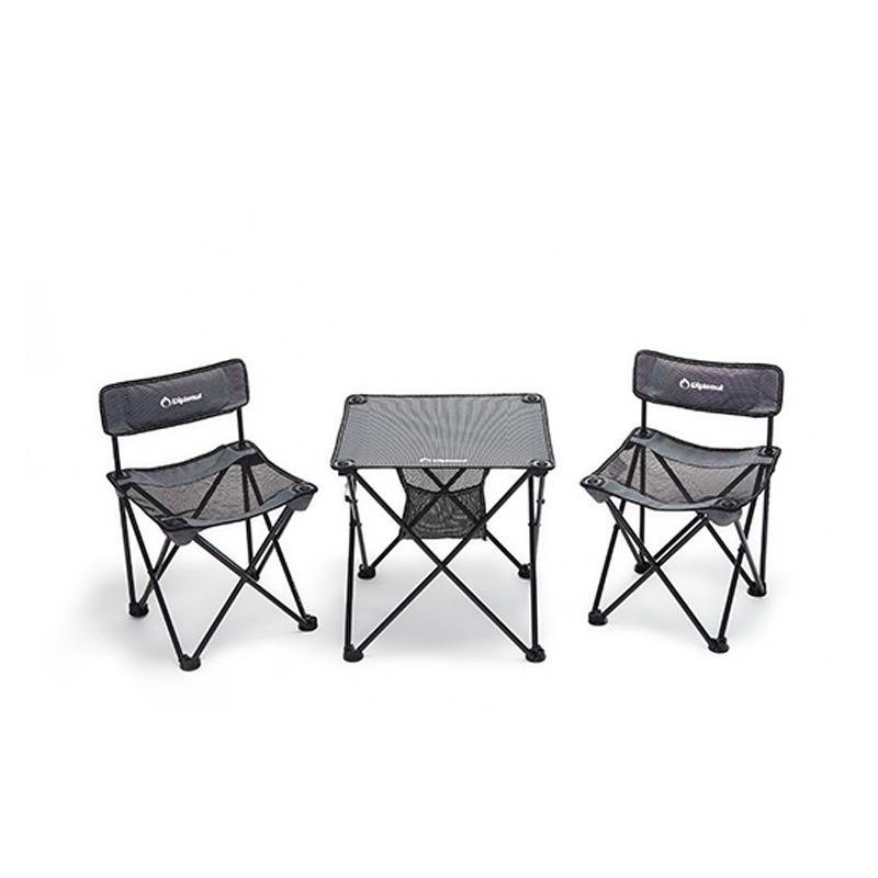 外交官折叠桌椅套装(2椅+1桌)