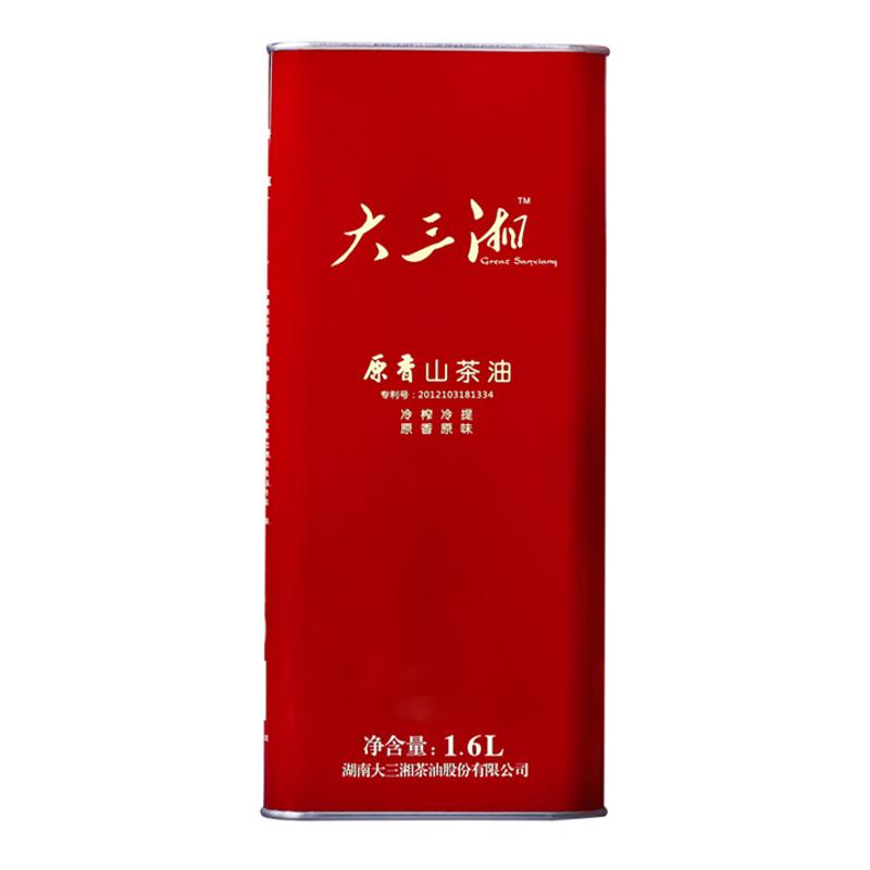 大三湘原香山茶油1.6L
