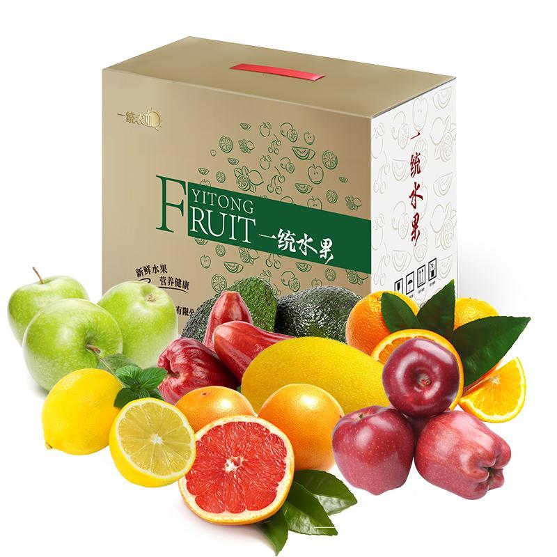 一统进口水果礼盒398型(票券/实物二选一)