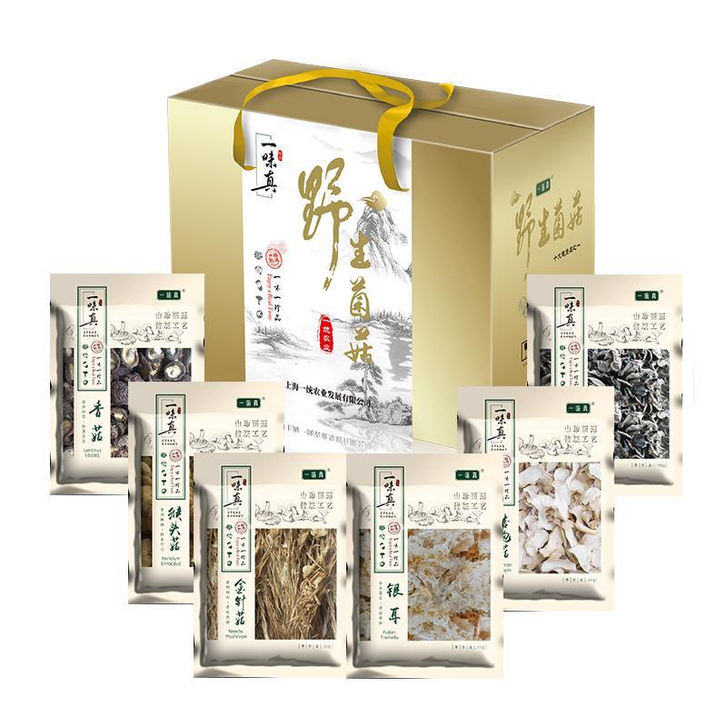 一味真菌菇礼盒198型(票券/实物二选一)