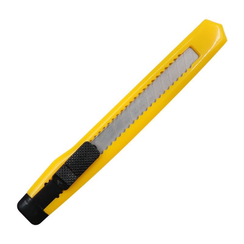欧标(MATE-IST)美工刀 9mm小号推锁 手工美术壁纸裁纸刀 B2442