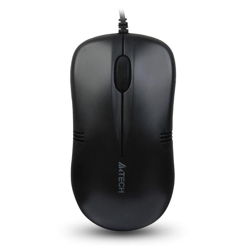 双飞燕(A4TECH) WM-100 鼠标 有线鼠标 对称鼠标 黑色 自营