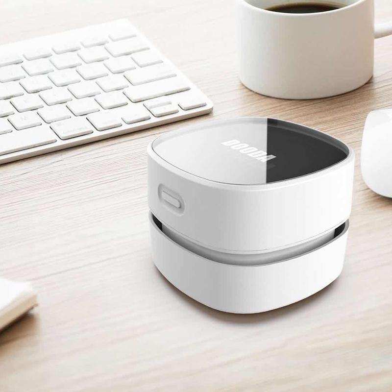 DOODA 迷你桌面吸尘器学生便携自动电动小型橡皮屑清洁家用无线吸灰