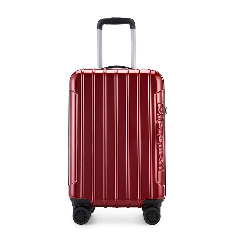 外交官 拉杆箱(20寸)HM-6282-2 宝石红