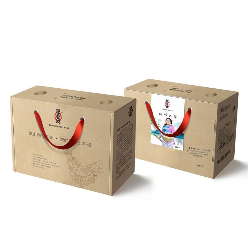 蛋爱说 儿童孕妇专用新鲜土鸡蛋 微山湖生态圈 散养新鲜土鸡蛋  礼盒装 30枚