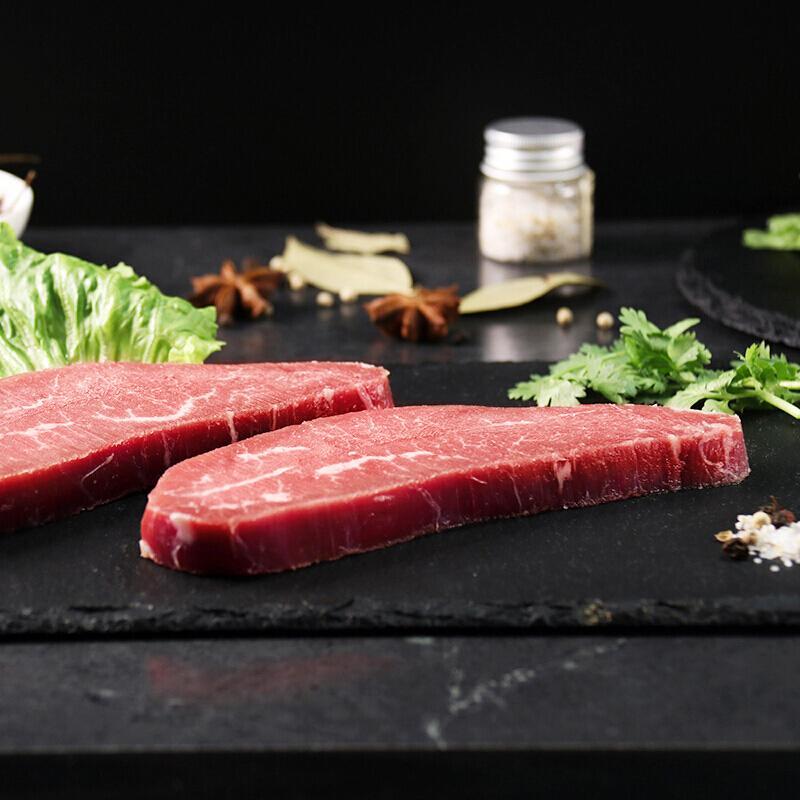 春禾秋牧 澳洲M3 轻食原切小牛排200g 谷饲200天 进口牛肉生鲜 含料包生鲜