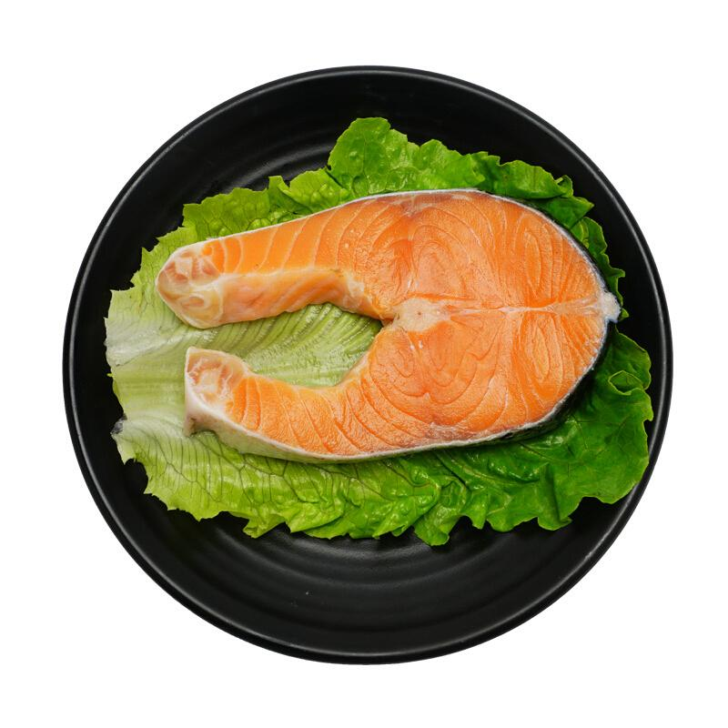 美威 智利轮切三文鱼排(大西洋鲑)400g/2-3片 含Ω3 BAP认证 智利自有渔场直供 生鲜