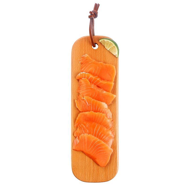 美威 智利三文鱼切片刺身(大西洋鲑)100g 解冻即食 BAP认证 智利自有渔场直供 生鲜 海鲜水产
