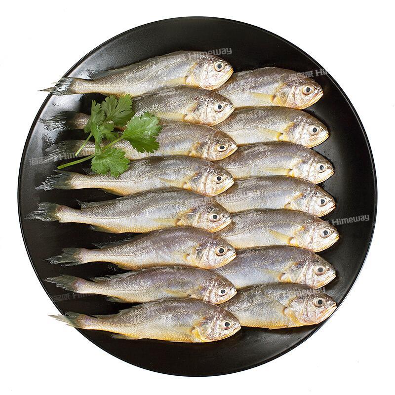 海名威 冷冻东海小黄鱼 500g 16-20条 袋装 生鲜海鲜水产 鱼类