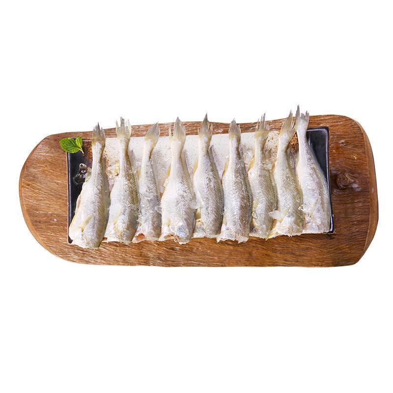简单滋味 冷冻东海去头小黄鱼500g 煎炸酥脆 海鲜水产