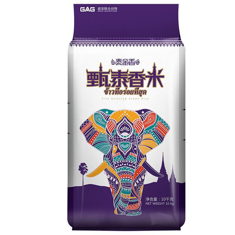 盛宝 泰金香 甄泰香米 长粒米 大米10kg