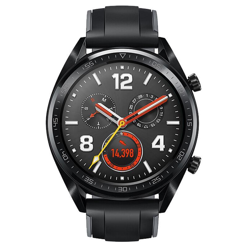 HUAWEI WATCH GT运动版 黑色 华为手表 运动智能手表