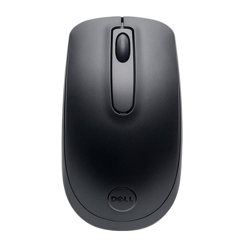 戴尔(DELL)WM118 无线办公鼠标(黑色)