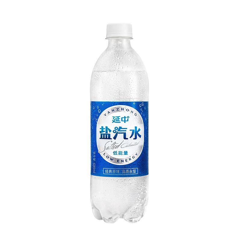 延中 盐汽水 饮料 600ml*20瓶 整箱