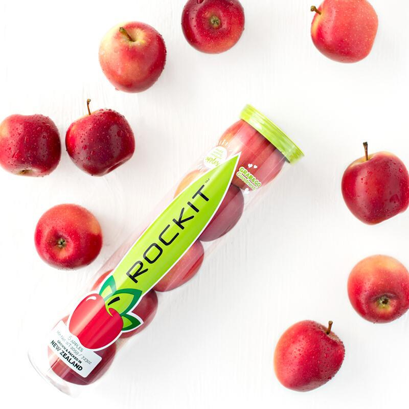 新西兰ROCKIT乐淇苹果 大果5粒装 单筒重约350g 新鲜苹果水果