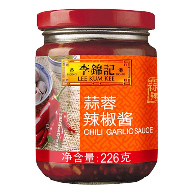 李锦记 调味酱 蒜蓉辣椒酱 凉拌烧烤火锅 226g
