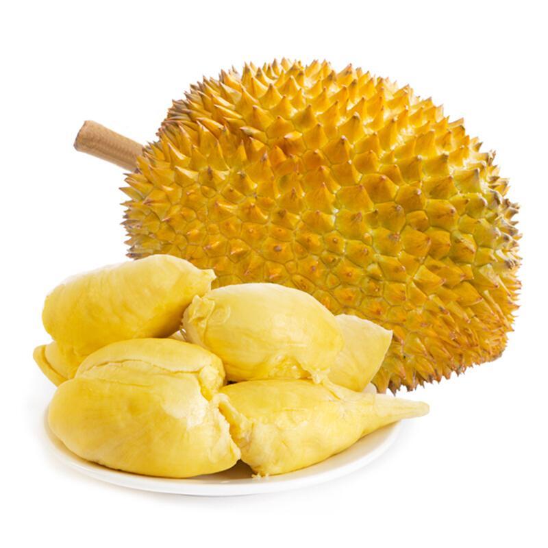 泰国进口金枕头榴莲 2-2.5kg 1个装 新鲜水果
