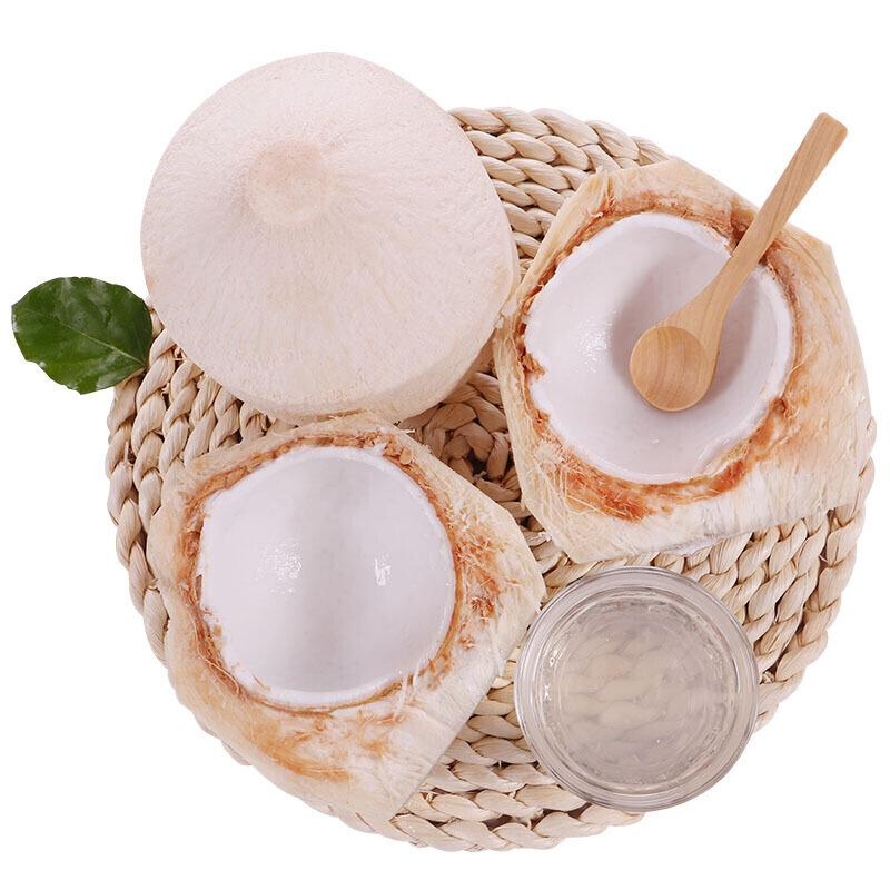 泰国进口椰青 椰子 9个装 大果 单果850g以上 赠送开椰器和吸管 新鲜水果 中秋礼盒