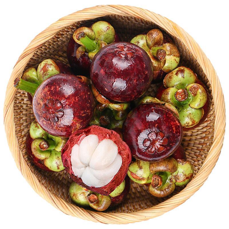 泰国进口山竹3A级中果 约2.5kg 单果40-70g 新鲜水果