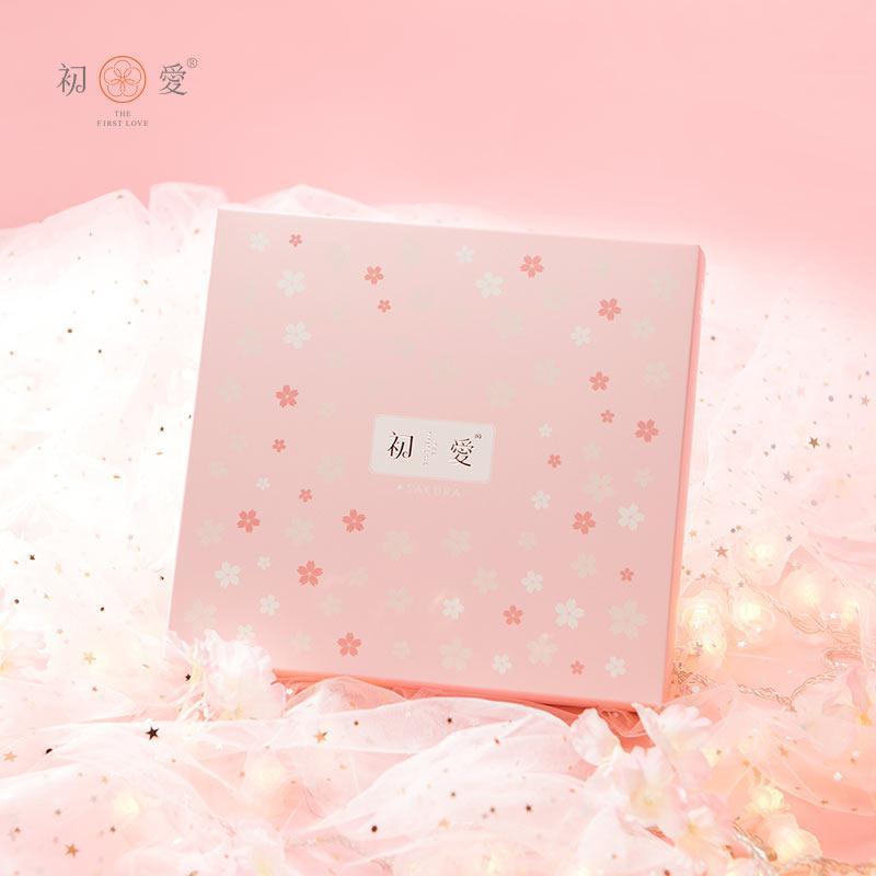 初爱 樱花系列 两条毛巾礼盒