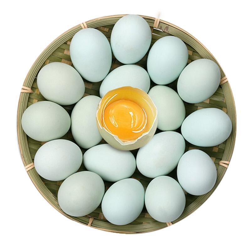 沱沱工社  绿壳鸡蛋 15枚  乌鸡蛋 鲜鸡蛋
