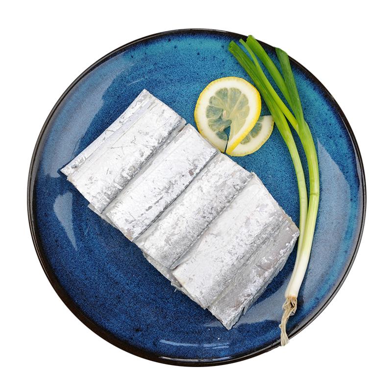 纯色本味 国产舟山带鱼段(去头去尾)快手菜 烧烤 刀鱼 1.5kg/袋(500g*3包) 带鱼 生鲜  海鲜水产