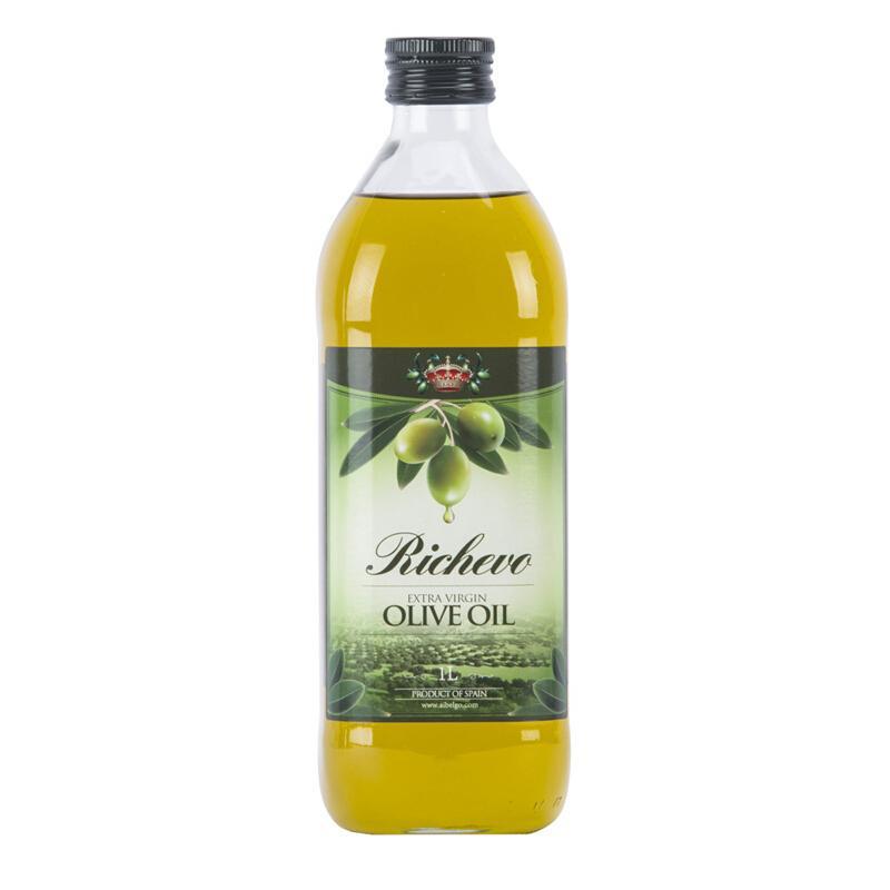 瑞驰欧(Richevo)瑞驰欧西班牙进口特级初榨橄榄油1L