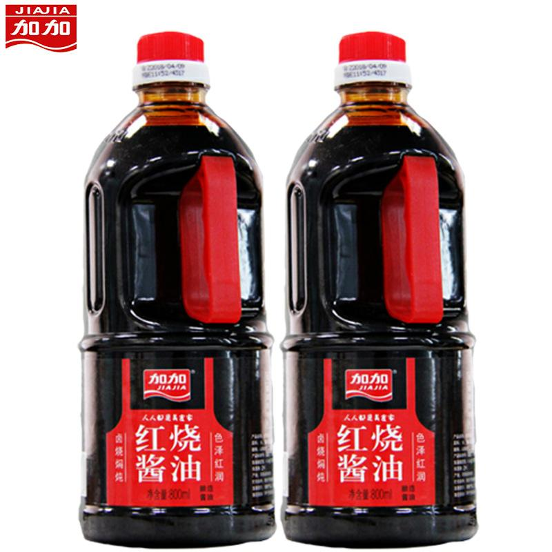 加加红烧酱油800ml*2
