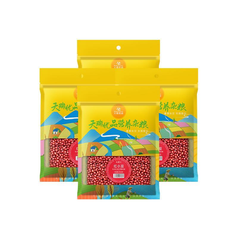 天瑞优品红豆350G*4包